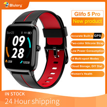 Смарт-часы Blulory Glifo 5 Pro GPS водонепроницаемые (5 атм) с Bluetooth