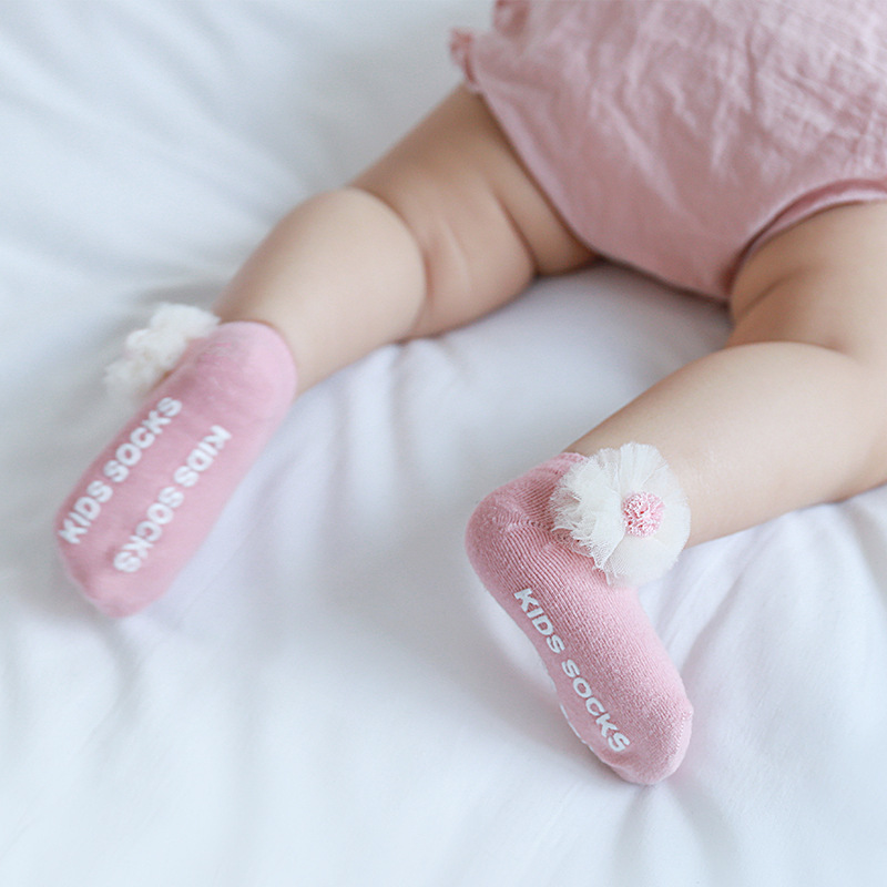 Wholesales Thicken Baby Kids Socks Flowers Winter Soft Warm Socks For Children Boys Thermal Floor Baby Girls Socks Sets Cotton