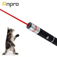 Anpro светодиодная Лазерная игрушка для домашних животных 5 мВт красный точечный лазерный свет игрушка лазерный прицел 530 нм 405 нм 650нм лазерная указка ручка интерактивная игрушка с котом
