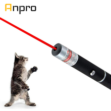 Anpro Láser LED juguete para gatos, punto rojo de 5MW, juguete con luz láser, 530nm, 405Nm, 650Nm, puntero, juguete interactivo con Gato
