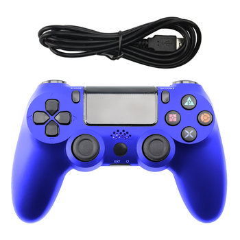 USB Wired Game Controller For PS4 Controller For Playstation 4 Controle PS4 Gamepad For Dualshock 4 Vibration Joystick Gamepads usb wired gamepad for playstation 4 joystick gamepads double shock joypad for pc for ps4 controller 2 2m cable for ps3 console