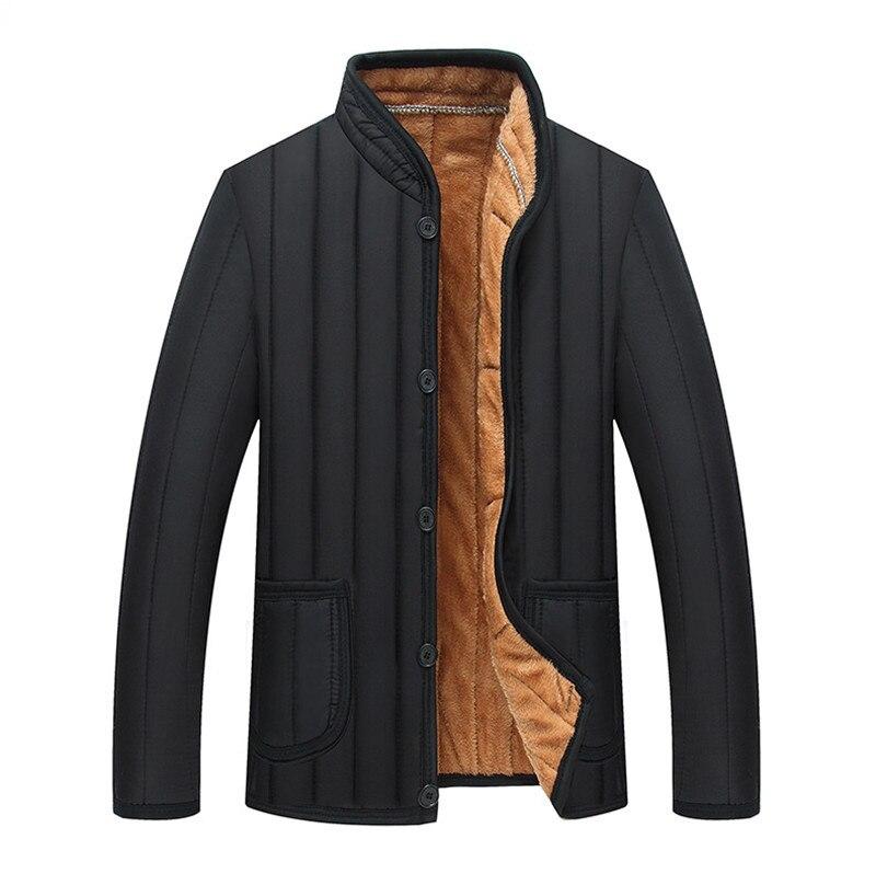 Размеры XL-3XL 4XL 2019 мужская зимняя куртка мужская куртка зимняя теплая хлопковая парка; Детская обувь для отдыха мужская одежда бренда толсты...