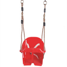 Kids Swing Chair Plastic Baby Safety Swing Seat Garden Backyard Outdoor Toys for Children Indoor Sports Baby Outdoor Funny Toy cheap CN(Origin) In-Stock Items Outdoor Furniture 5-7 Years 6 years old Indoor Outdoor Toys Baby Swinging Chair Adjustable Ropes Length