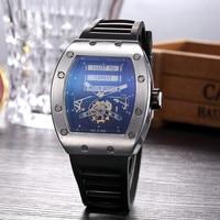 Hot sprzedaży duża czarno DZ digite S zegarek Rlo dz Auto data tydzień wyświetlacz Luminous Diver zegarki nadgarstek ze stali nierdzewnej mężczyzna mężczyzna zegar w Zegarki damskie od Zegarki na