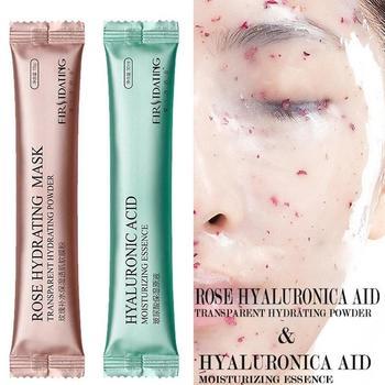 DIY SPA Collagen Rose Mask Powder Hyaluronic Acid Soft Face Care Mask Anti Wrinkle Peel Off Rubber Mask 1