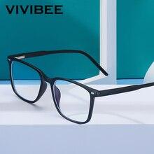 2021 Trending Blue Light Blocking Men's Glasses Gaming TR90 Matte Black Anti Ray Eyeglasses Women Transparent Fashion Eyewear