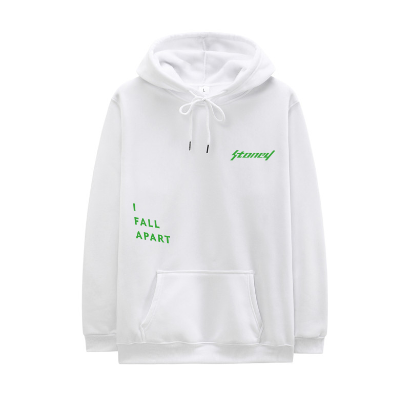 2020 New Arrival Post Malone Hoodie Men Hip Hop Swag Hoody Stoney I FALL APART Letter Print Long Sleeves S-XXL