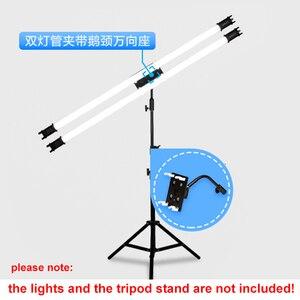 Image 3 - NanGuang NANLITE LED Pavo floresan lamba 15C 30C tutucu braketi boru kelepçesi klipsi (dahil değildir ışık standı)