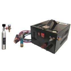 12V 4500psi 300bar 30mpa PCP Aria Automobile Compressore Mini PCP Pompa Con 220V Trasformatore Ad Alta Pressione di Gonfiaggio Auto caccia