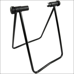 Mountain Bike U-Shaped Parking Rack Showing Stand Bike Rack Support Frame Maintenance Vehicle Equipment Bicycle Accessories