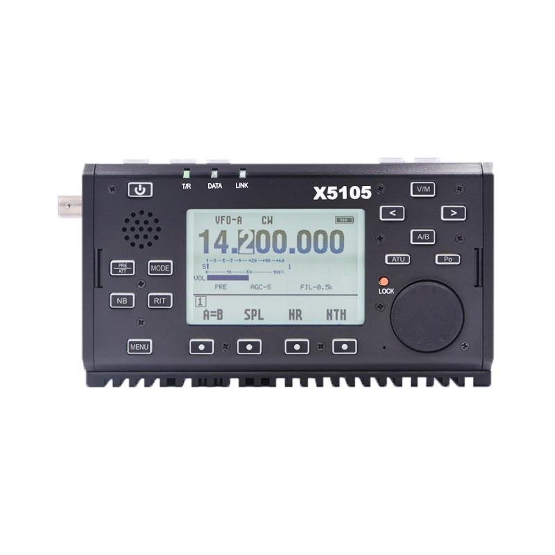 Xiegu X5105 наружная версия 0,5-30 МГц 50-54 МГц 5 Вт 3800 мАч КВ трансивер с IF выходом все полосы покрытия SSB CW AM FM RTTY PSK