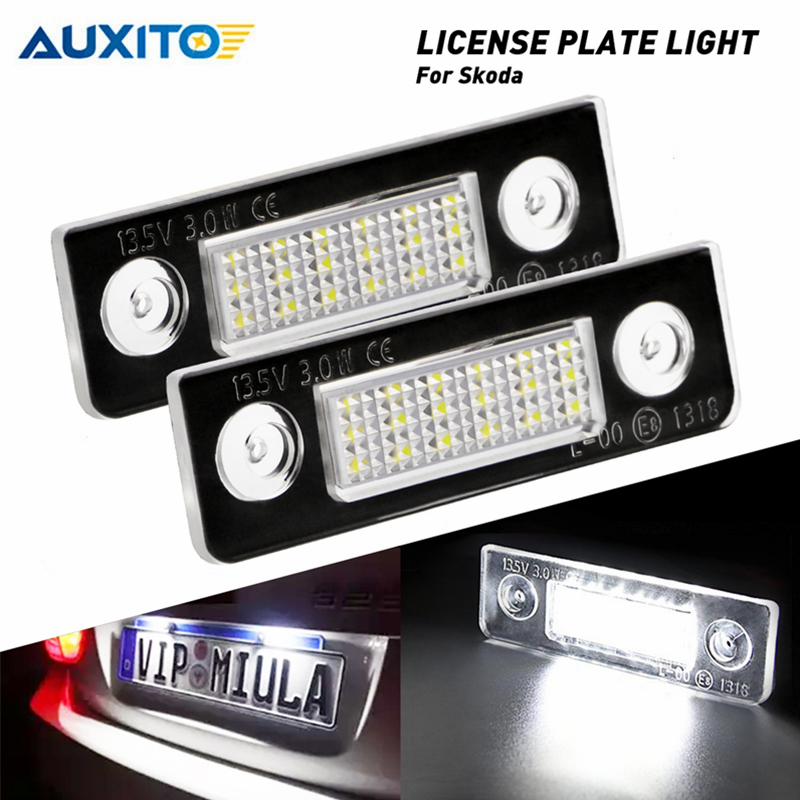 VW POLO 2002-2008 BRIGHT ICE WHITE LED NUMBER PLATE LIGHT BULBS ERROR FREE