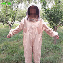 Outdoor Capture Bee Beekeeping Clothing Quality Cotton Breathable Piece Overalls Special Body Protective