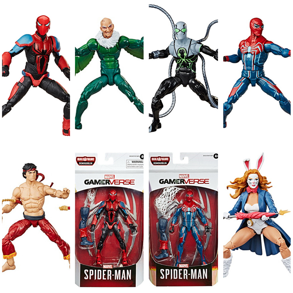 Marvel Legends Gamer Verse Spider Man Superior Octopus Vulture White Rabbit Shang Chi 6
