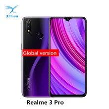 Глобальная версия realme 3 Pro 4 Гб ОЗУ 64 Гб ПЗУ Snapdragon 710 AIE мобильный телефон 4045 мА батарея мобильного телефона VOOC Быстрая зарядка