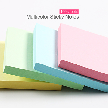 100Sheets Cute Kawaii  Sticky Notes Memo Pad Stationery Pads Notepad It Stationary office accessories Note papeleria Posted