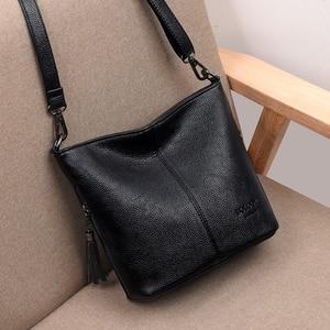 Image 3 - Ladies Hand Crossbody Bags For Women 2020 Luxury Handbags Women Leather Shoulder Bag Tote Bag Designer Women bolsa feminina