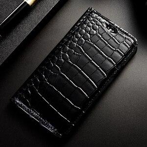 Image 5 - Honra 9 10 20 lite caso de luxo couro de crocodilo casos para huawei honor 9a 9c 9s 30s 9i 10i 20i 9 10 20 30 pro + caso da aleta