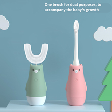 U Type 360 Degrees Clean Tooth Switchable Intelligent Automatic Sonic Electric Toothbrush 3 Modes Tooth Brush USB Charging