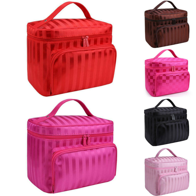 2019 Newest Professional Make Up Bag Beauty Storage Vanity Case Toiletry Travel Organiser  Waterproof Cosmetic Bags Makeup Bags