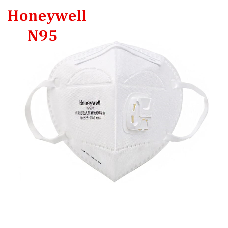 Honeywell H950v KN95 Respirator Mask Face Mouth Mask PM2.5 N99 FFP2 Mascherina N95 Protective Mask Breathable 98% Close To FFP3
