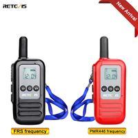 מכשיר הקשר זוג Retevis RT65 מיני מכשיר הקשר UHF 400-470MHz PMR446 / FRS רדיו Comunicador כף יד משדר VOX TOT דו כיוונית רדיו (1)