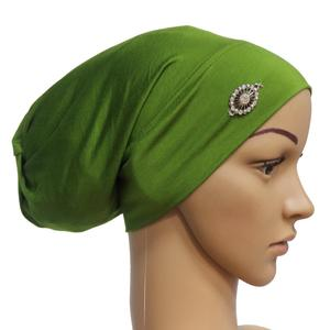 Image 5 - Rhinestone ภายใต้ผ้าพันคอผู้หญิงมุสลิม Bonnet Turban หมวกอิสลาม Headscarf อาหรับ Hijab หมวกหมวก Headwear Underscarf หมวก