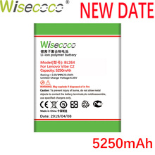 Wisecoco BL264 5250mAh New Production Battery For Lenovo Vibe C2 Power Phone High qualtiy battery Replacement+Tracking Number