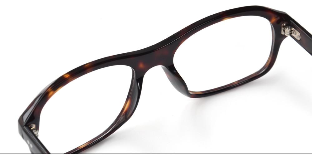 óculos harry eggsy quadro acetato superior estilo britânico eyewear