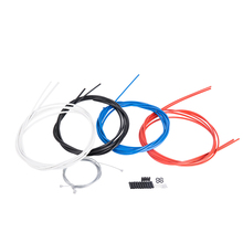 цена на Color line tube set, self-mountain mountain bike brake line tube, transmission line tube, line tube cap