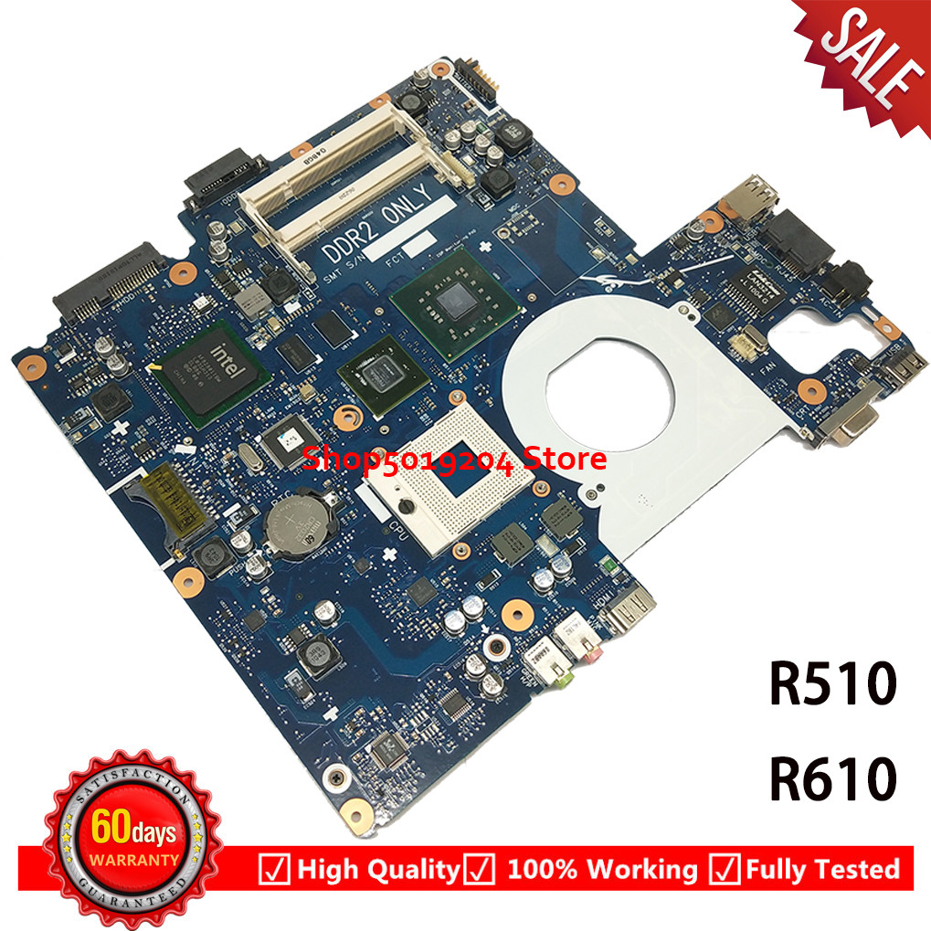 Mainboard BA41-00921A For Samsung NP-R510 R510 Laptop Motherboard BA41-00920A BA41-00919A G98-600-U2