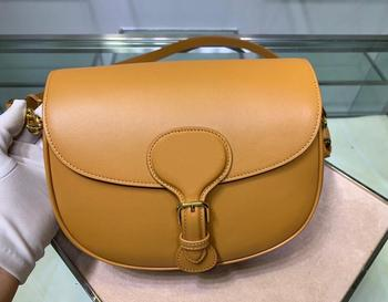 Leather lady shoulder bag 2020 high quality new saddle type horizontal Bag Fashion Messenger