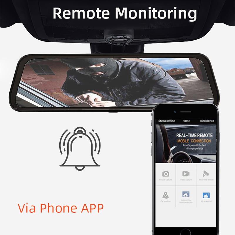 Bluavido 4G Android 8.1 Auto Spiegel Video Recorder GPS Navigatie ADAS Achteruitkijkspiegel Camera FHD 1080P Dual lens Dash Cam Dvr - 5