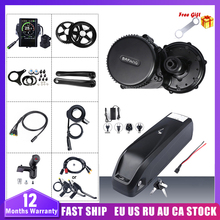 Electric-Bike-Conversion-Kits Mid-Drive-Motor BBS02B 36v 500w Bicycle-Battery in Ce Bafang