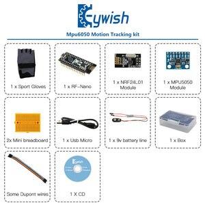 Image 2 - Keywish Gesture Motion Starter Kit for Arduino Nano V3.0 Support Robot Smart Car MPU6050 6 Axis Accelerometer Gyroscope Module