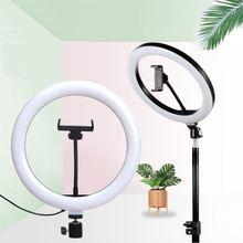 Кольцевая Светодиодная лампа для селфи кольцевой светильник