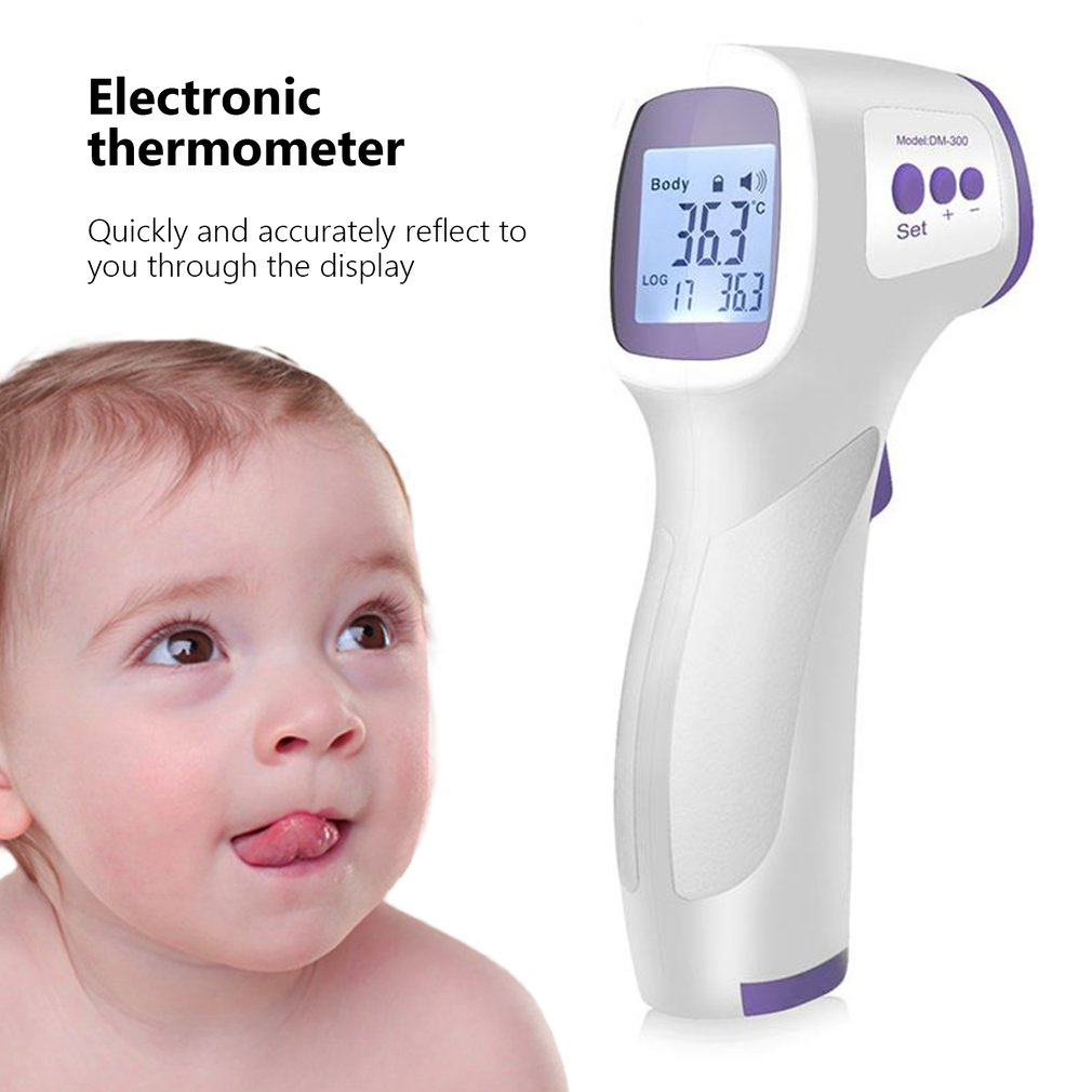 2020 Household Baby Adult Professional Digital Infrared Forehead Ear Thermometer Memory Recall Electronic Thermometer