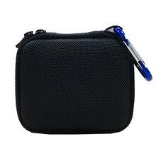Жесткий EVA чехол для переноски для JBL Go 1/2 Bluetooth динамик, сетчатый карман для зарядного устройства и кабелей