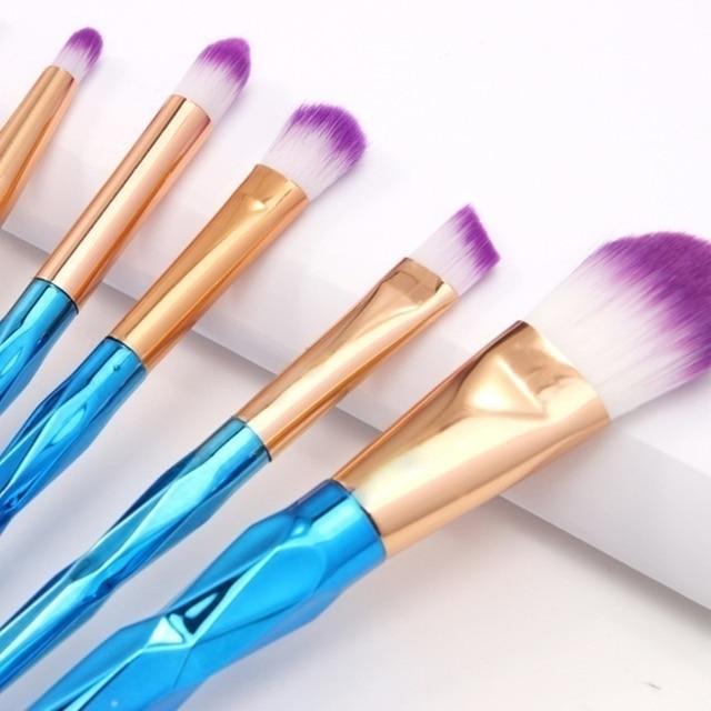 20Pcs Diamond Makeup Brushes Set Powder Foundation Blush Blending Eye shadow Lip Cosmetic Beauty Make Up Brushes Multifunctional 2
