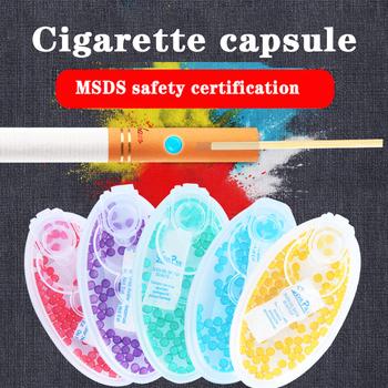 100 sztuk tytoń pops koraliki owoce Flavour kapsułki dla tobacc papieros holder palenie kapsułki prezent dla mężczyzny pojemnik na tytoń filtr tanie i dobre opinie TSKZDOU CN (pochodzenie) Cigarette pops Increase flavor 100pcs Cigarette capsule