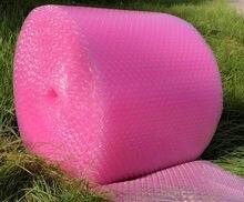 Cheapeast 20cm de Largura 40M Comum embalagem rolo de filme bolha almofada de ar almofada de ar almofada de Ar Encantador da Forma Do Coração