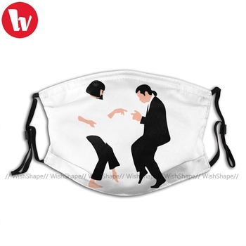 Pulp Fiction Mouth Face Mask You Never Can Tell Facial Mask with Filters for Adult Fashion Pretty Mask pretty reckless pretty reckless who you selling for 2 lp