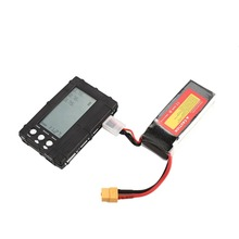 цена на 3in1 Battery Balancer LiPo/LiFe 2-6s Balancing Discharger Voltage Meter Tester LCD Screen Register JST Connector for RC Model