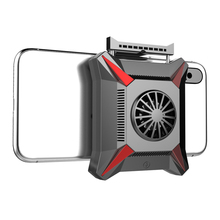 Foldable Fan Radiator Mobile Phone Cooler Cooling Support Holder Bracket for iPhone Samsung Huawei Xiaomi Smartphone Tablet