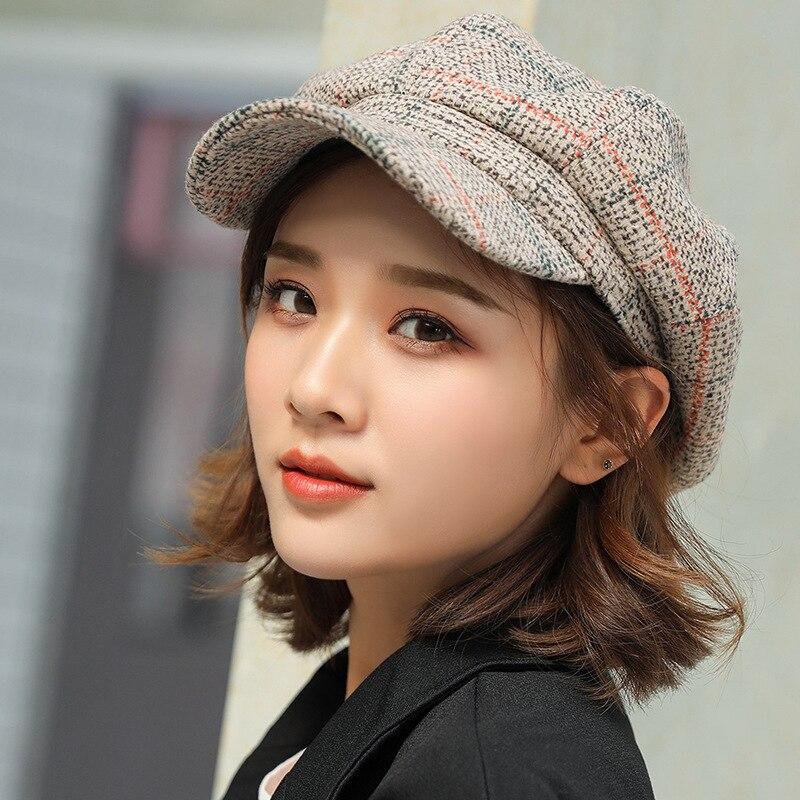 Caps Beret Girl