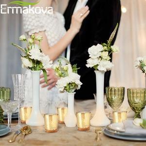 Image 3 - ERMAKOVA 6/12 Pcs Votive Candle Holder Mercury Glass Tealight Candle Holder for Wedding Parties Hotel Cafe Bar Home Decoration