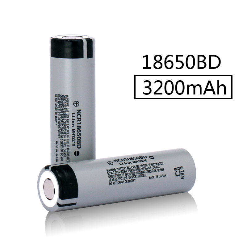 JOUYM 18650 <font><b>Battery</b></font> NCR18650BD 3.7V <font><b>3200</b></font> mAh Rechargeable Explosion-proof Lithium <font><b>Battery</b></font> 15A image
