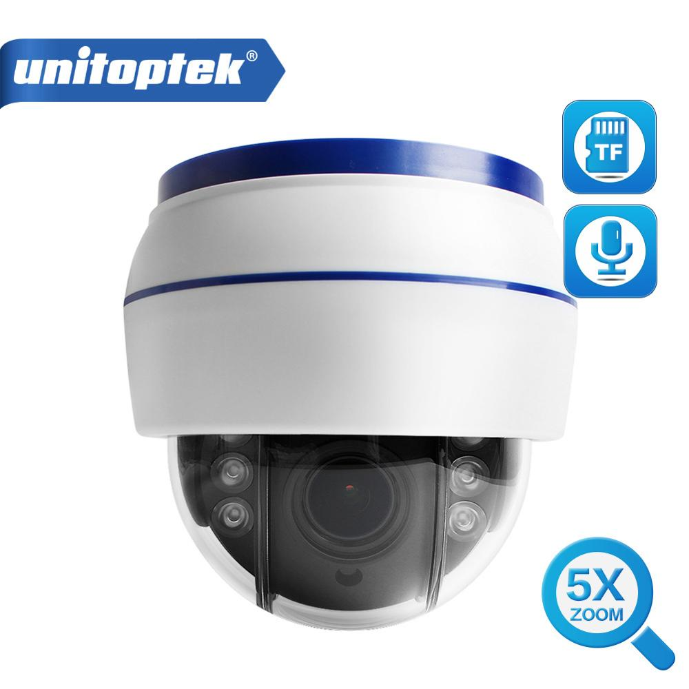 Wireless Speed Dome PTZ IP Camera Wifi HD 1080P 2MP Auto Focus 5X Zoom 2.7 13.5mm Indoor Audio SD Card IR Night Onvif P2P-in Surveillance Cameras from Security & Protection