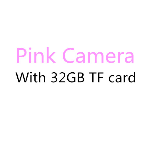 Pink with 32GB card