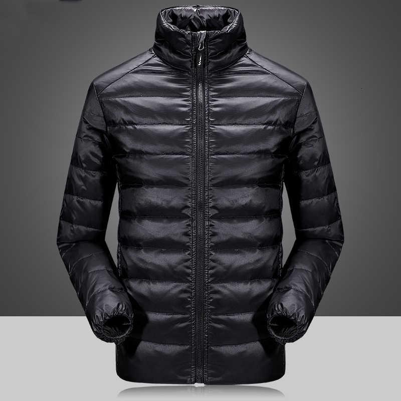 Ветровка пуховое пальто Мужская брендовая зимняя куртка мужская съемная подкладка водонепроницаемая верхняя одежда утолщенная теплая куртка на утином пуху